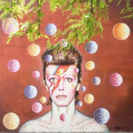 Ilustración David Bowie