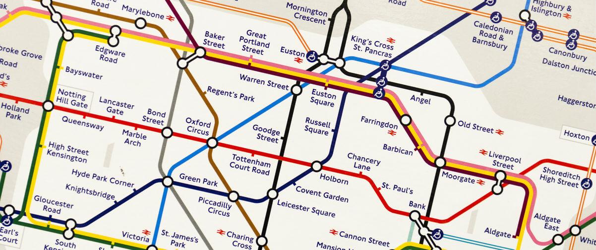 Guía Londres, Plano Metro Londres