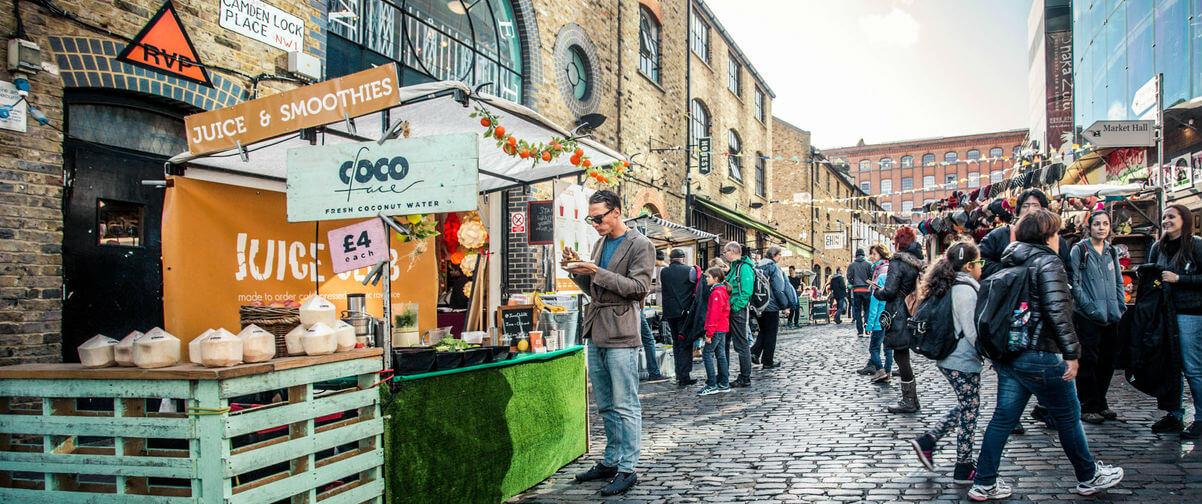 Guía Londres, Gente de compras en Londres