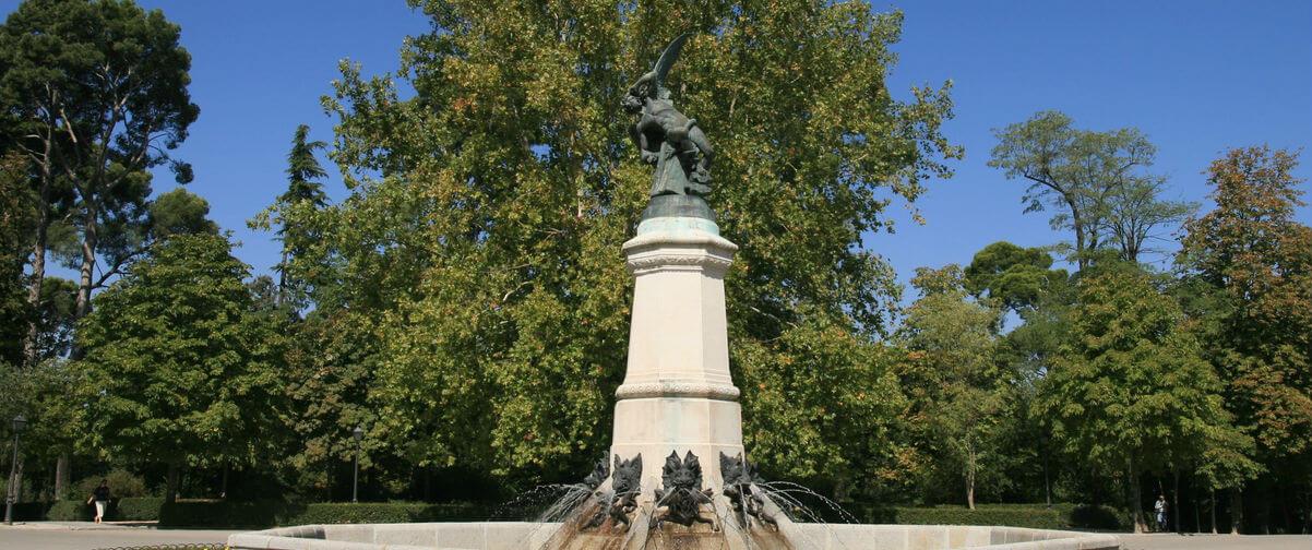 Estatua del Ángel Caído, Madrid