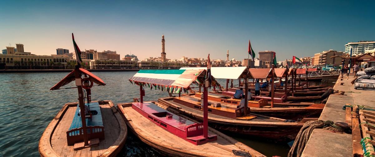 Guía Dubai, Taxi boats Abra, Dubai