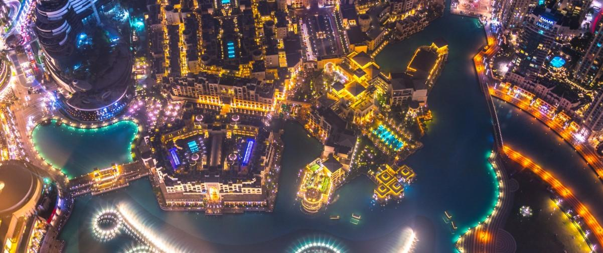 Guía Dubai, Aerial view Dubai