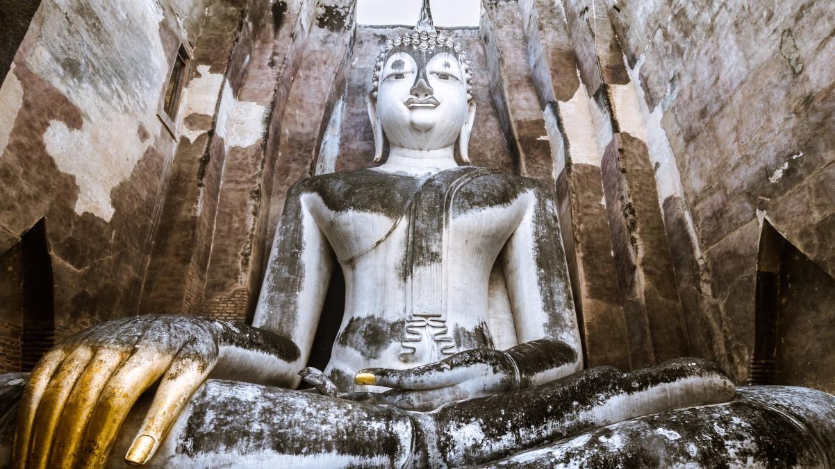 Guía Bangkok, Big buddha statue Sukhothai, Bangkok