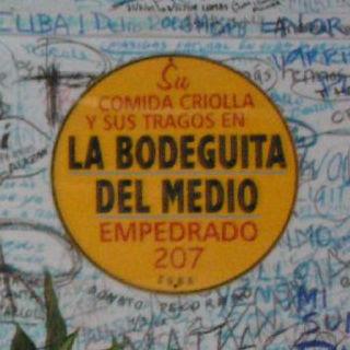 Guía La Habana, Bodeguita de enmedio