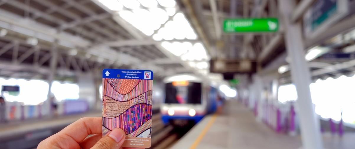 Guía Bangkok, Bts pass ticket, Bangkok