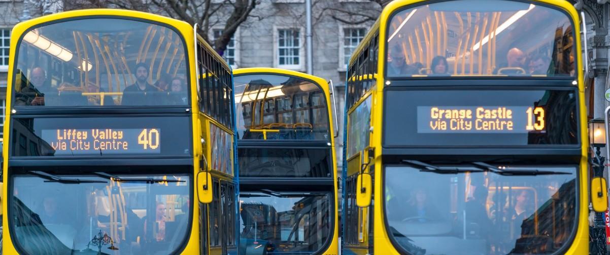 Guía Dublín, Bus