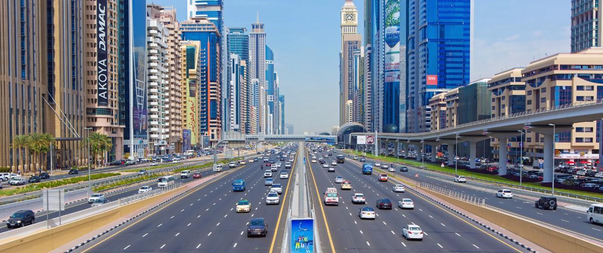 Guía Dubai, Carreteras Dubai