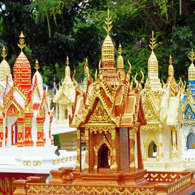 Guía Bangkok, Casa de los espíritus