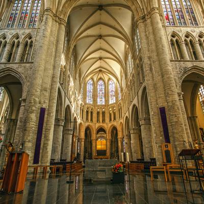 Guía Bruselas, Catedral de San Miguel y Santa Gudula