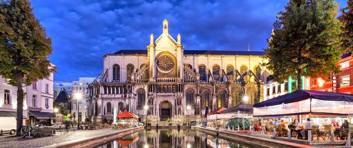 Guía Bruselas, Catedral de Santa Caterina