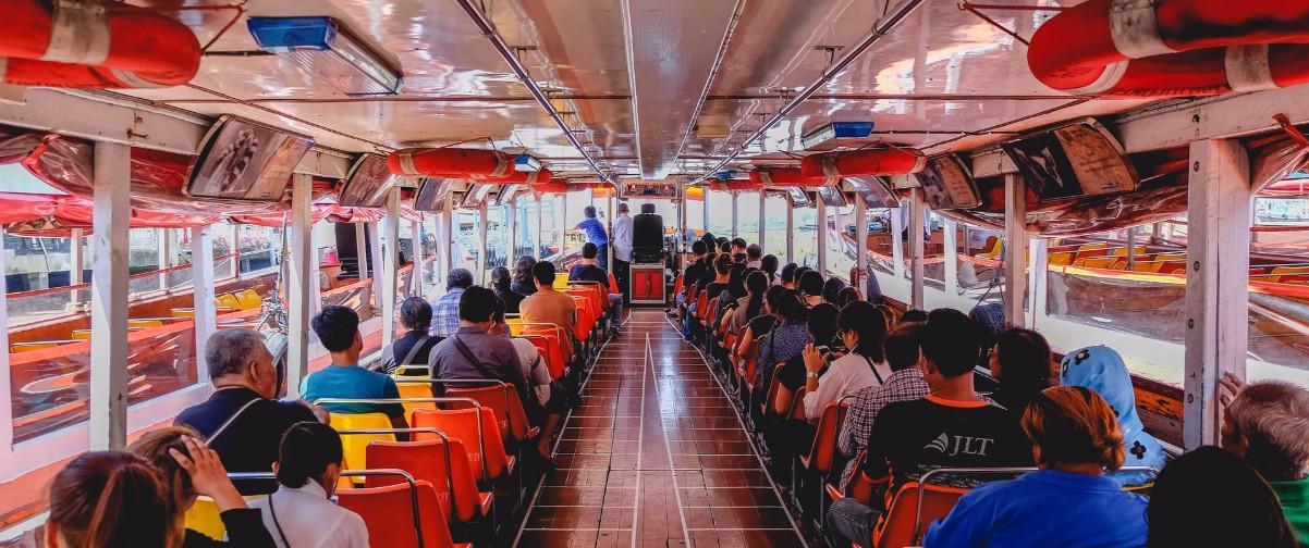 Guía Bangkok, Chao Phraya Express Boat, Bangkok