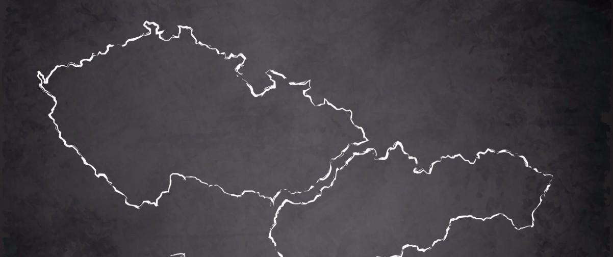 Guía Praga, Mapa Checoslovaquia