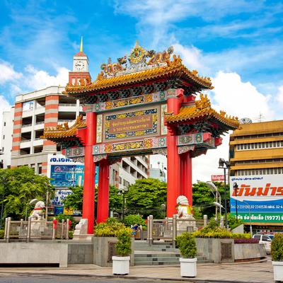Guía Bangkok, Chinatown Gate, Bangkok