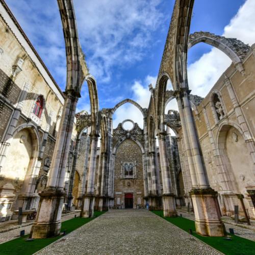 Guía Lisboa, Convento do Carmo