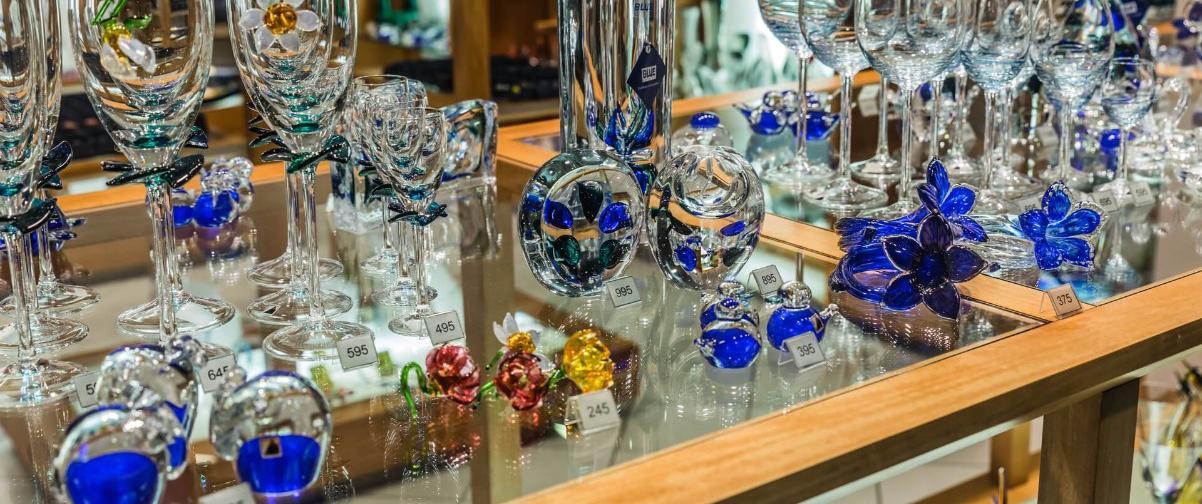 Guía Praga, Cristal de Bohemia