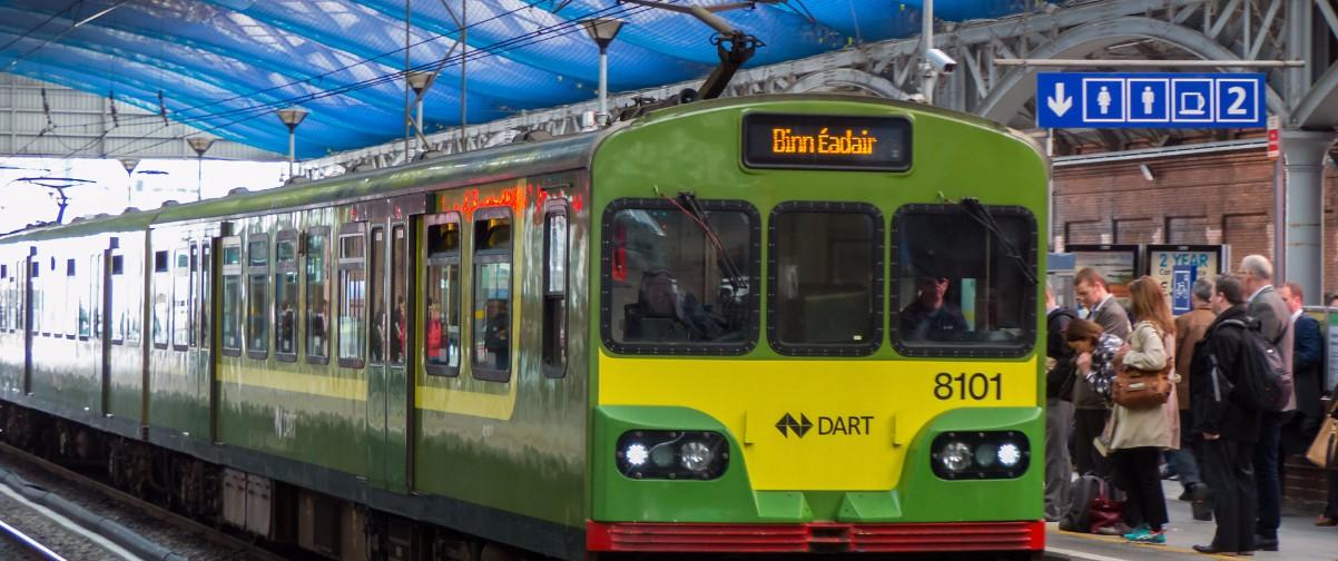 Guía Dublín, Dart train