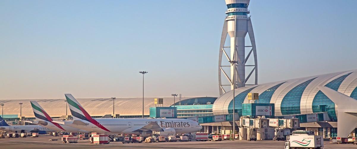 Guía Dubai, Dubai Airport