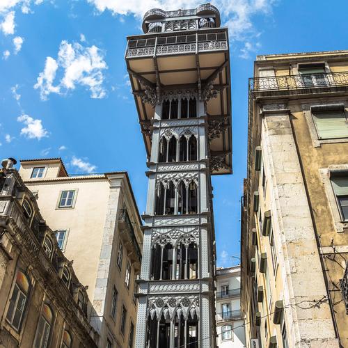 Guía Lisboa, Elevador de Santa Justa