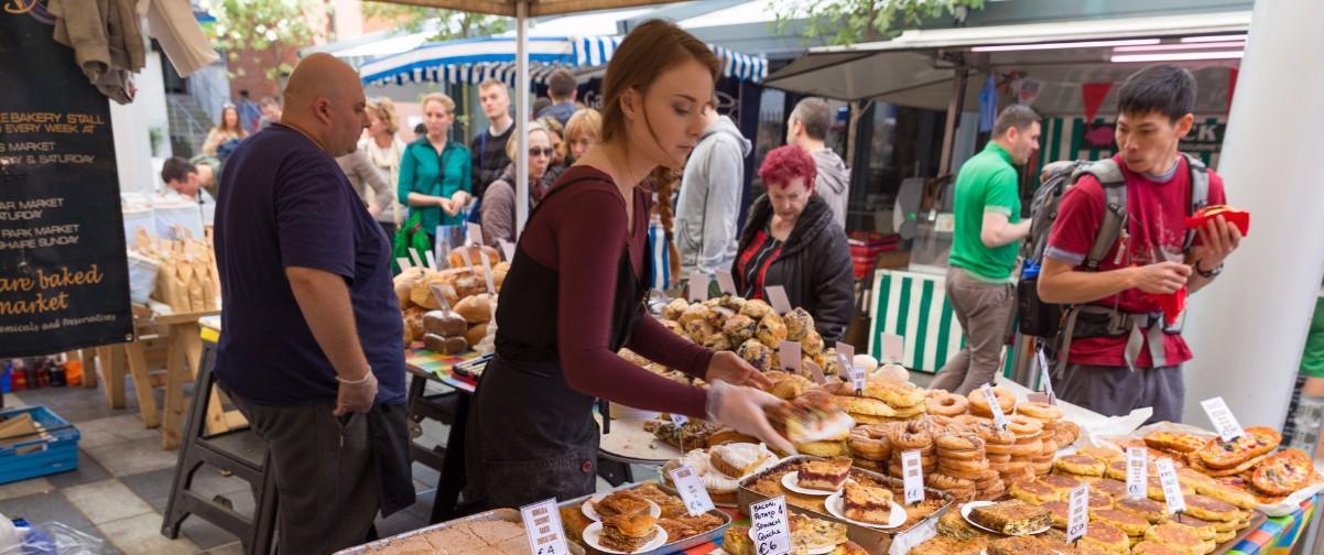 Guía Dublín, Food market