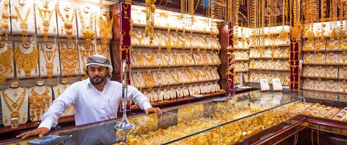 Guía Dubai, Gold souk, Dubai
