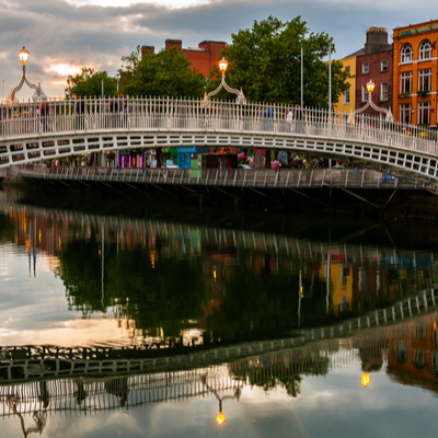 Guía Dublín, Ha-Penny bridge