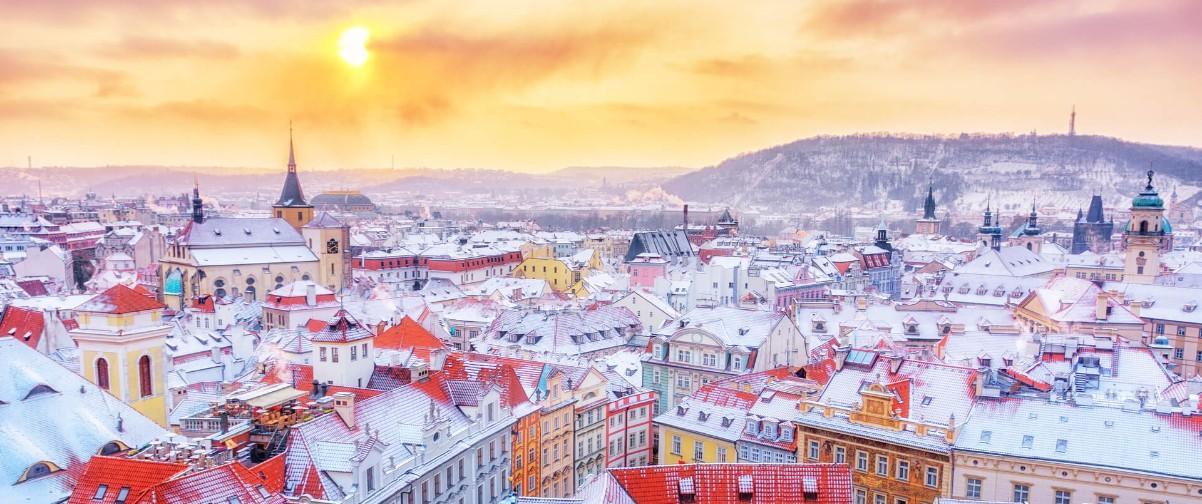 Guía Praga, Invierno Praga