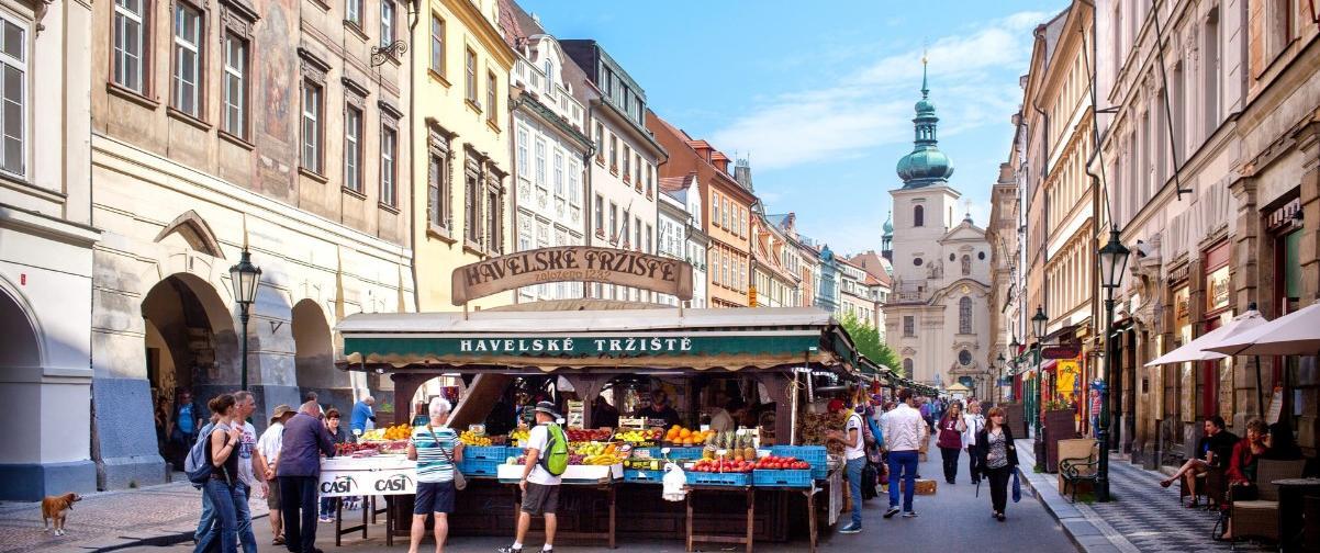 Guía Praga, Mercado Havelske