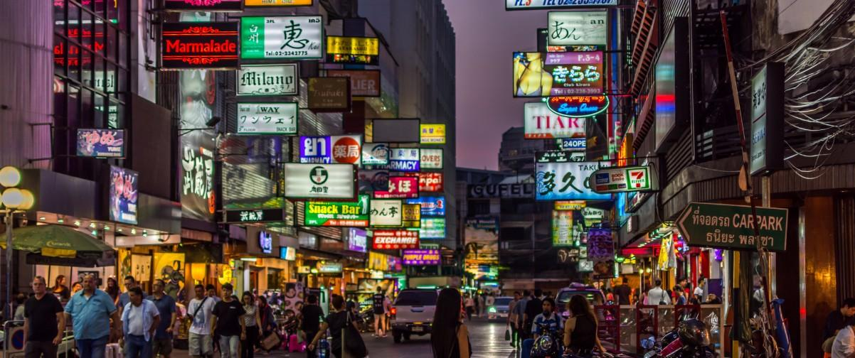 Guía Bangkok, Mercado Patpong, Bangkok