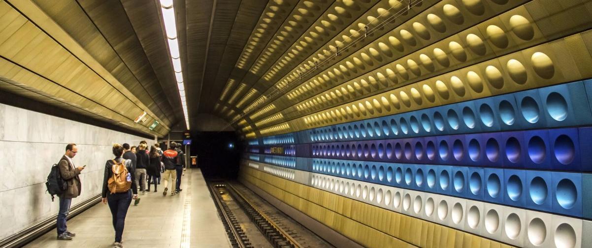 Guía Praga, Metro Praga