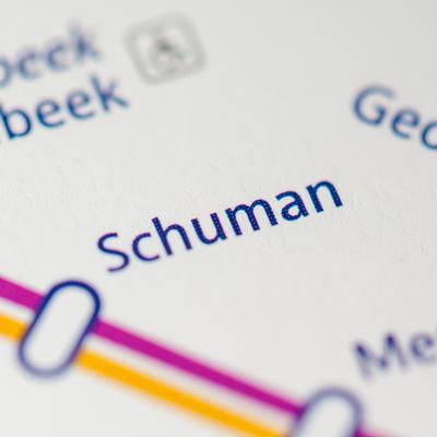 Guía Bruselas, Metro Schuman