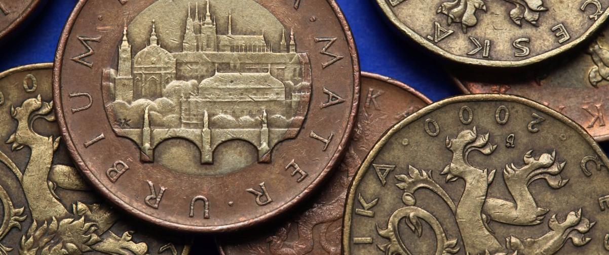 Guía Praga, Monedas Praga