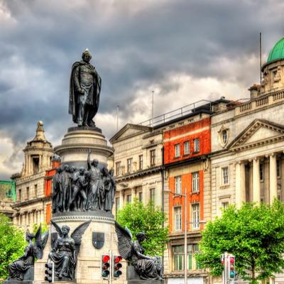 Guía Dublín, Monumento O'Connell