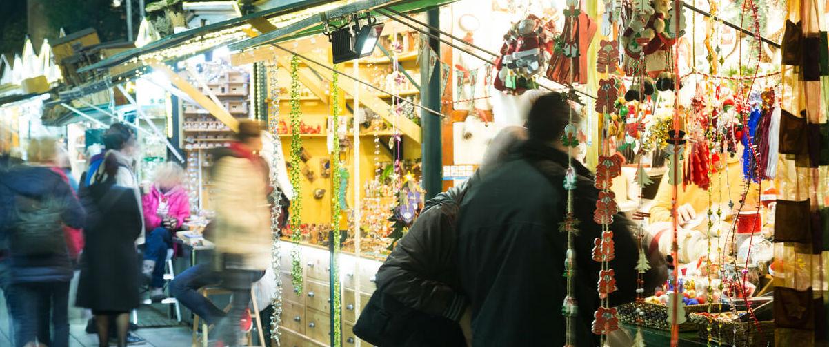 Guía Barcelona, Puestos Navidad