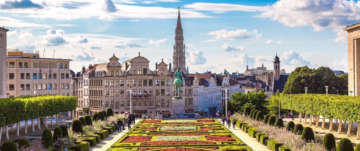 Paisaje Bruselas