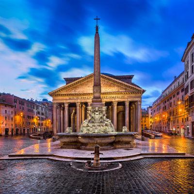 Guía Roma, Panteón