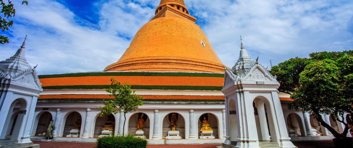 Guía Bangkok, Phra Pathom Chedi, Bangkok