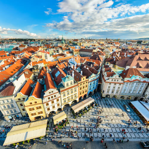 Guía Praga, Plaza ciudad vieja de Praga