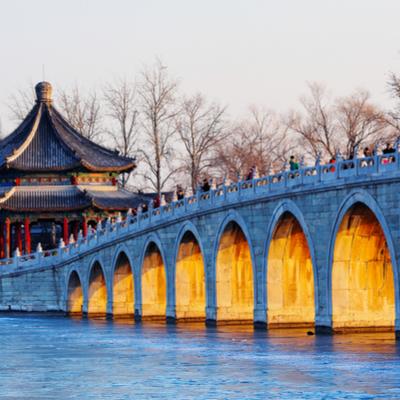 Guía Pekín, Puente de los 17 arcos