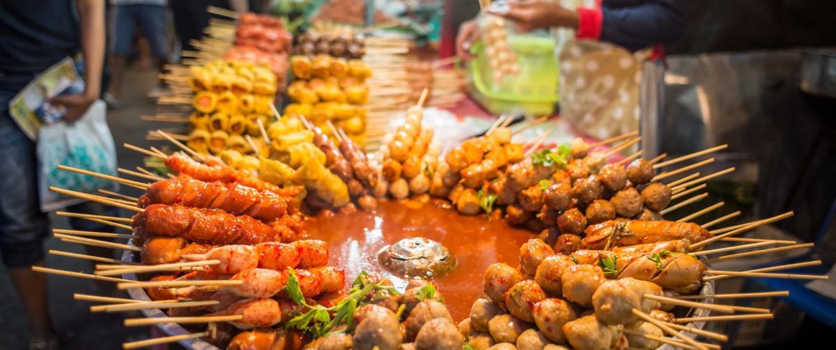 Guía Bangkok, Comida puestos callejeros, Bangkok