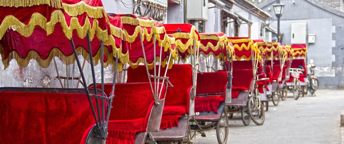 Guía Pekín, Rickshaw