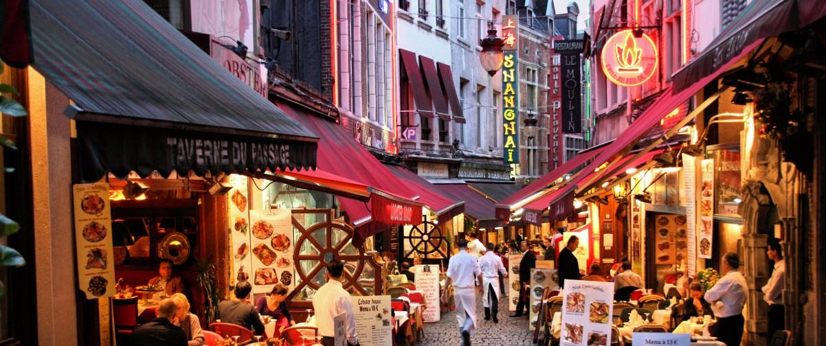 Guía Bruselas, Rue de Bouchers