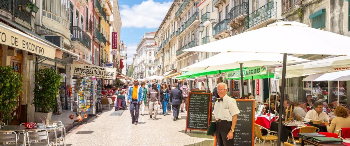 Guía Lisboa, Rúa de Santo Antao, Lisboa