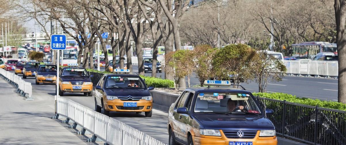 Guía Pekín, Taxis en Pekin