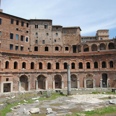 Guía Roma, Mercado de Trajano
