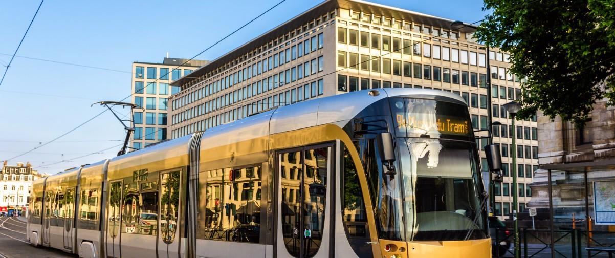 Guía Bruselas, Tram