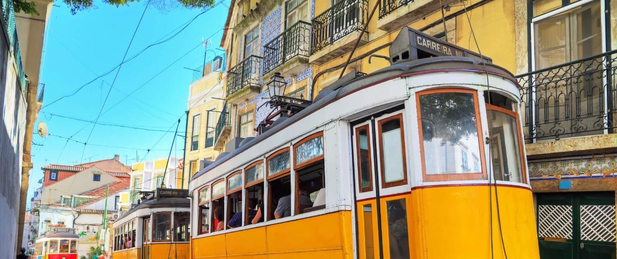 Guía Lisboa, Tranvía