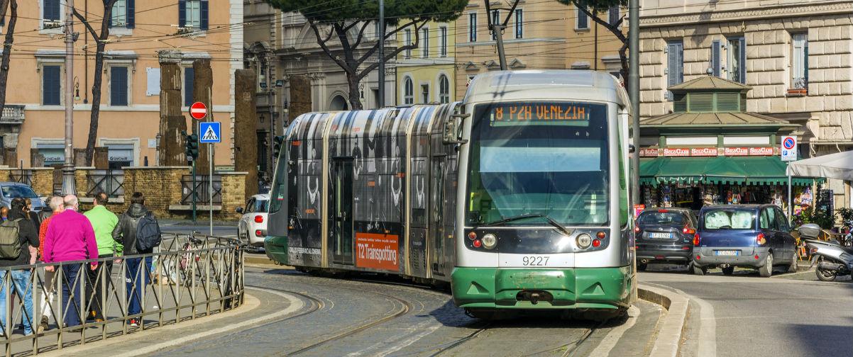 Guía Roma, tranvía Roma