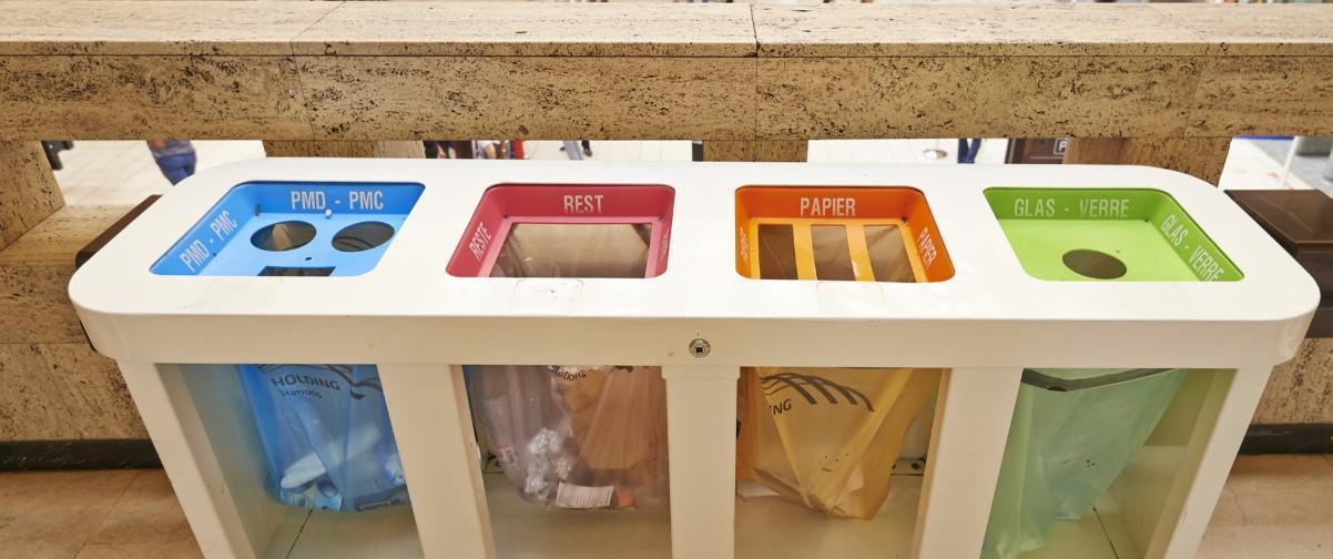 Guía Bruselas, Contenedores de basura