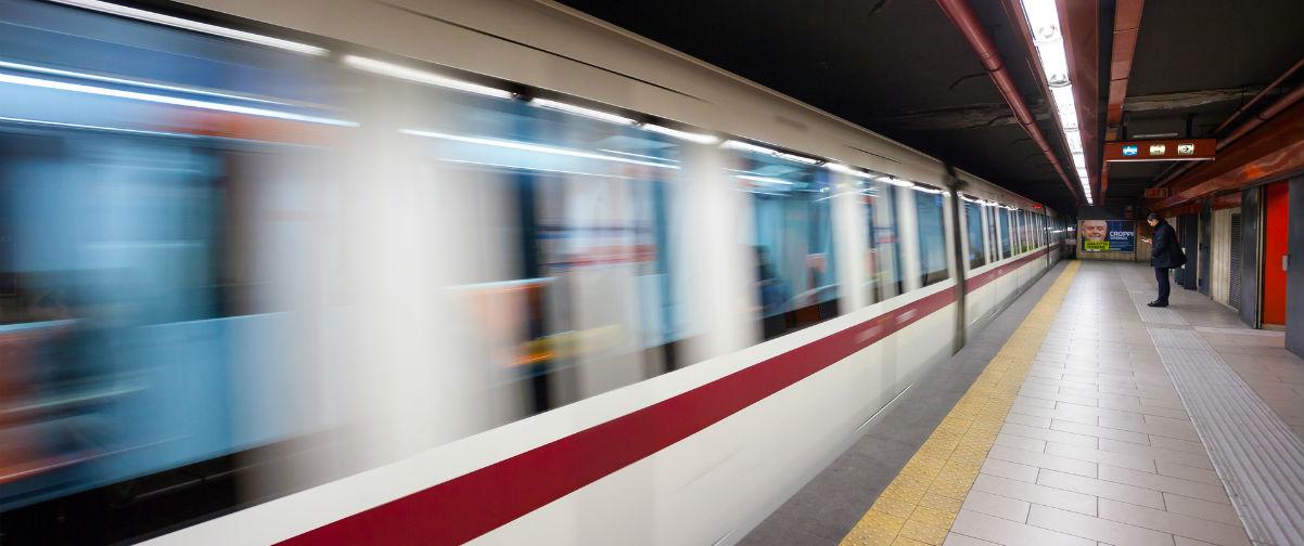 Guía Roma, trenes Roma