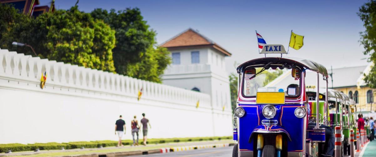 Guía Bangkok, TukTuk transport, Bangkok